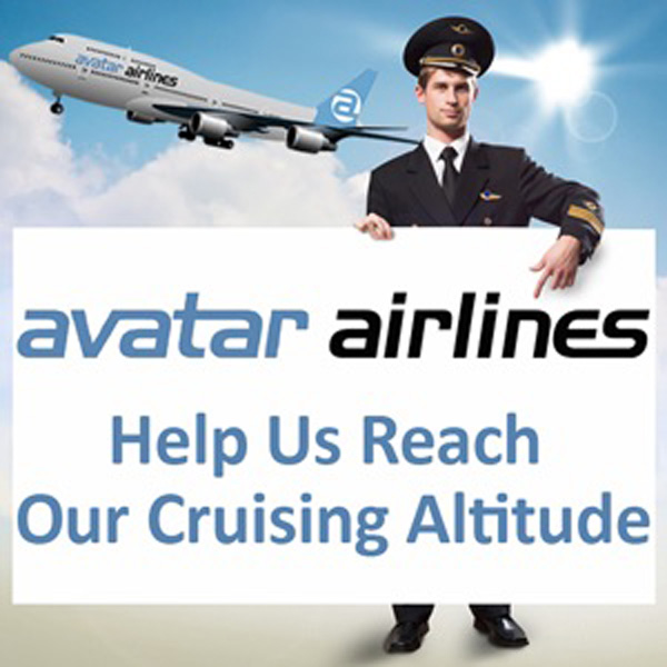 Avatar Airlines help us