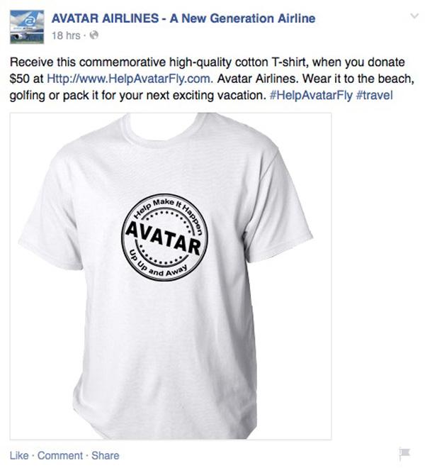 Avatar on Facebook