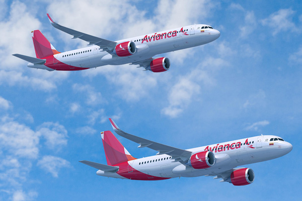 Avianca A320neo and A321neo (Flt)(Airbus)(LRW)