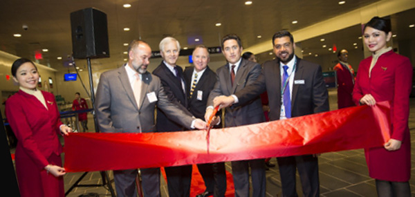 Cathay Pacific Airways Opens at Boston