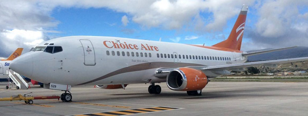 Choice Aire (Swift Air USA) 737-300 N529AU (15)(Grd)(Choice Aire)(LRW)