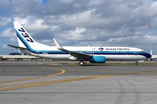 Eastern (2nd) 737-800 WL N276EA (14-737)(Grd) MIA (LC)(LRW)