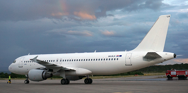 Limitless A320-200 9A-SLA (Grd)(Limitless)(LR)