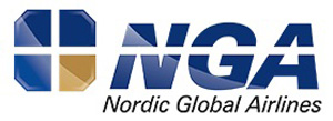 Nordic Global Airlines-NGA logo
