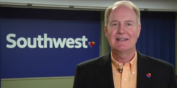 Southwest CEO Gary Kelly