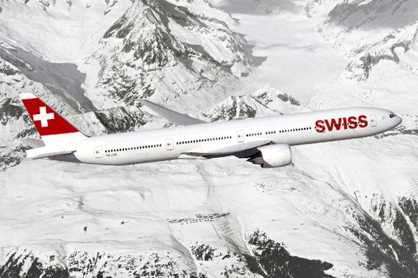 Boeing SWISS 777-300ERs
