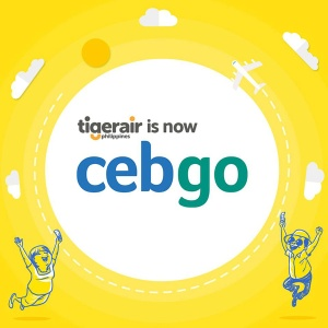 Tigerair Philippines is now cebgo