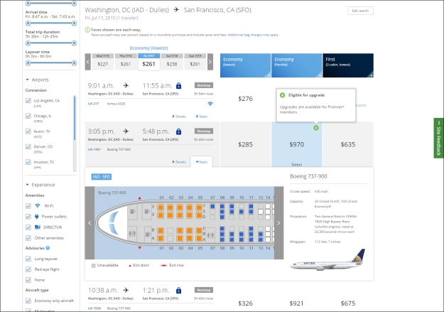 United search on new website (UA)(LR)