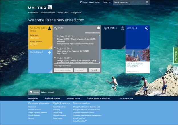 United widgets on new website (UA)(LR)