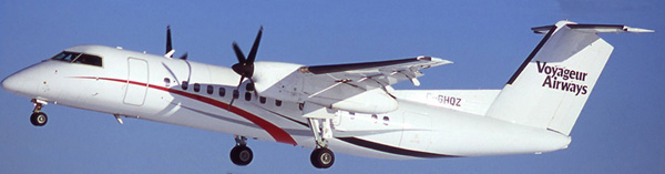 Voyageur DHC-8-300 C-GHQZ (Tko)(Voyageur)(LR)