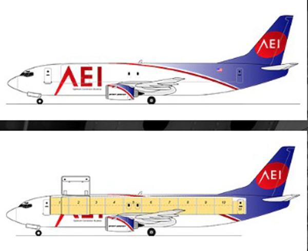 AEI freighter conversion