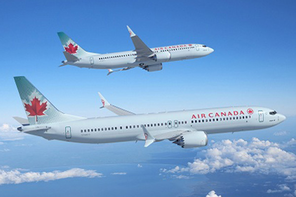Air Canada 737-8 and 737-9 MAX