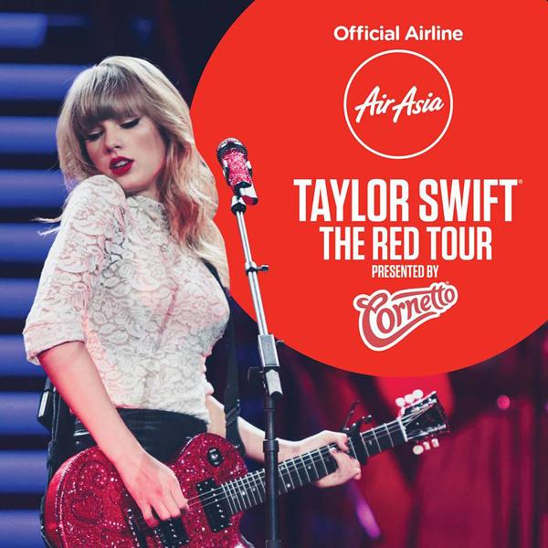 AirAsia Taylor Swift Red Tour (AirAsia)(LR)