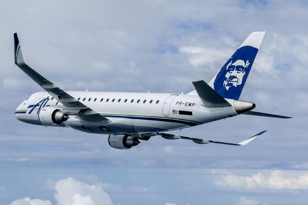 Alaska SkyWest ERJ 175 PR-EMP (N170SY)(90)(Flt)(Embraer)(LRW)