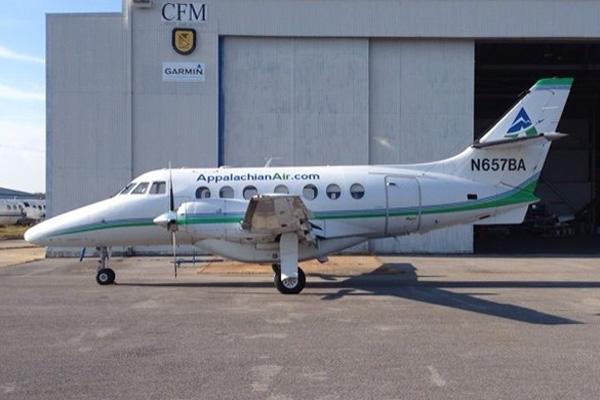 AppalachianAir.com Jetstream 31 N657BA (14)(Grd)(AA)(LR)
