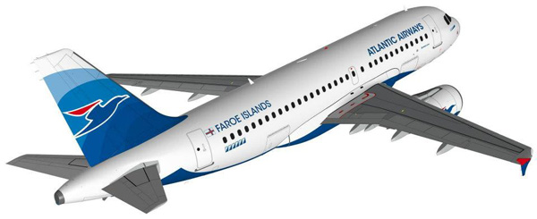 Atlantic Airways A319-100 (12)(Flt)(Atlantic)(LR)