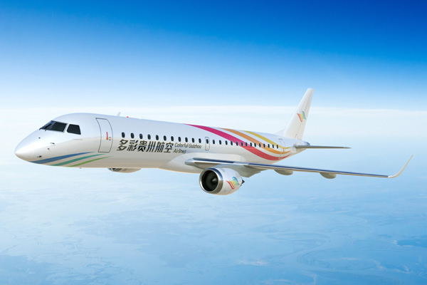 Colorful Guizhou ERJ 190-100 (15)(Flt)(Embraer)(LRW)