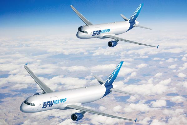 EFW A320P2F and EFW A321P2F (Flt)(Airbus)(LRW)