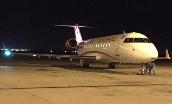 Fly Baghdad CRJ200 YI-BAH (15)(Grd)(Fly Baghdad)(LR)