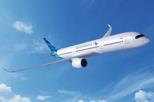 Garuda Indonesia A350-900 (09)(Flt)(Airbus)(LRW)