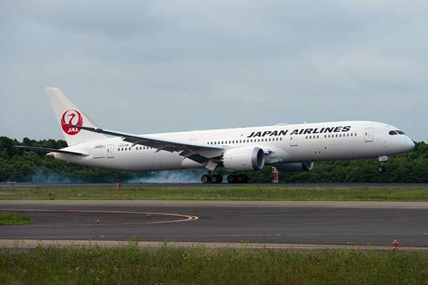 JAL-Japan Airlines 787-9 JA861J (11)(Ldg) PAE (JAL)(LR)