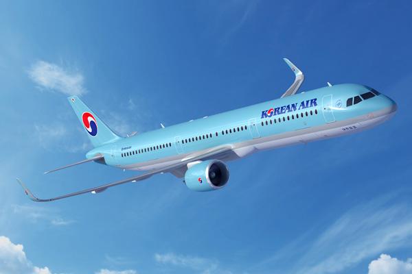 Korean Air A321neo (84)(Flt)(Airbus)(LRW)