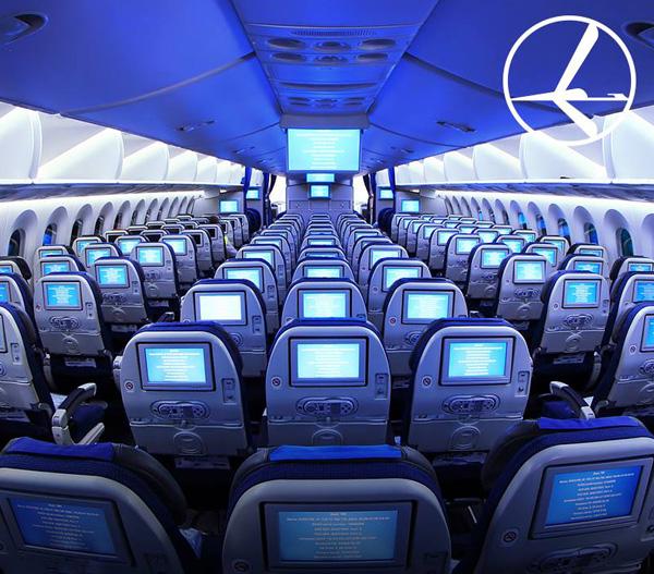 LOT Polish 787-8 Economy Cabin (LOT)(LR)