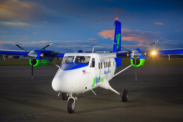 MASwings DHC-6-400 (07)(Grd)(Viking Air)(LR)