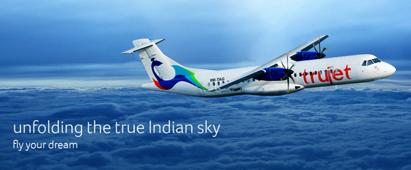 Trujet fly your dream banner