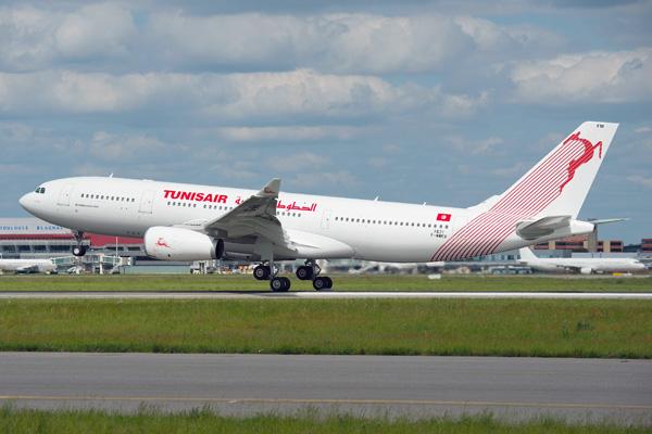 Tunisair A330-200 F-WWKR (TS-IFM)(90)(Ldg) TLS (Airbus-H. Gousse)(LRW)