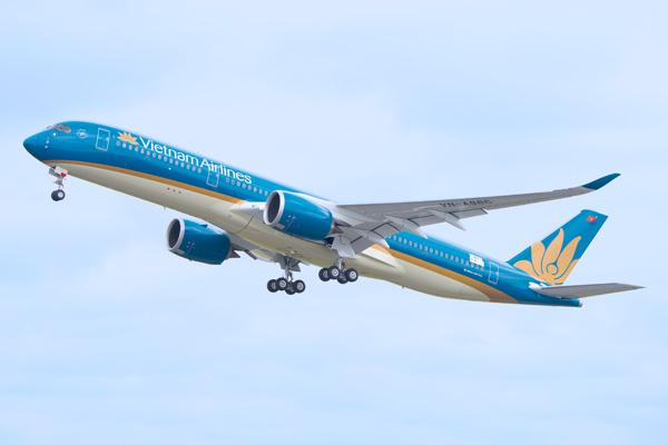 Vietnam A350-900 F-WZFI (VN-A886)(14)(Tko) TLS (Airbus)(LRW)