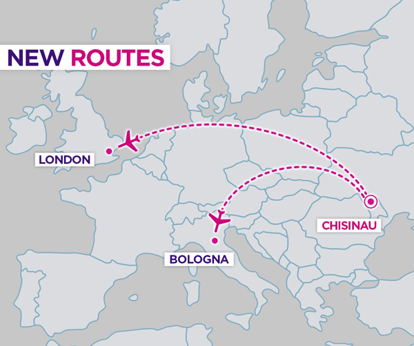Wizz Air Chisinau new route
