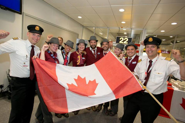 Air Canada rouge celebrates its 2nd anniversary