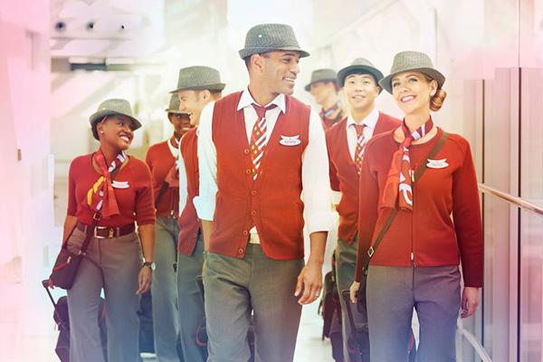 Air Canada rouge crew (AC)(LR)