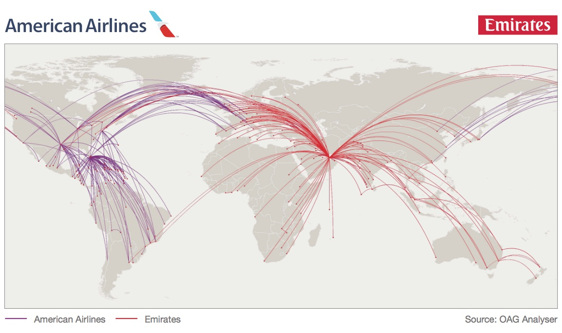 Route Maps Vietnam Airlines Flydubai World Airline News Uae Road - Usa road direction map