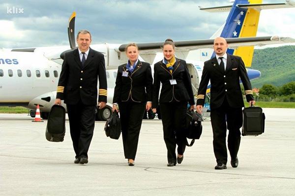 B&H Airlines crew