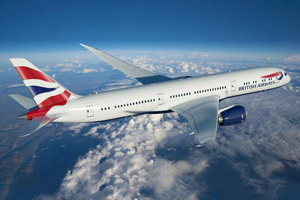 British Airways 787-9 (97-Union flag)(Flt)(BA)(LRW)