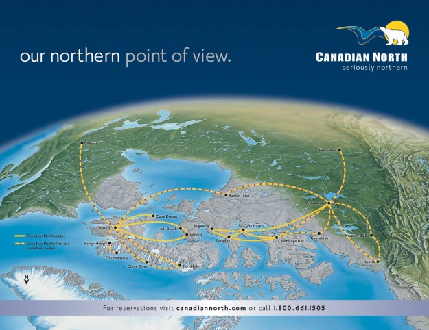 Canadian North northern point of view