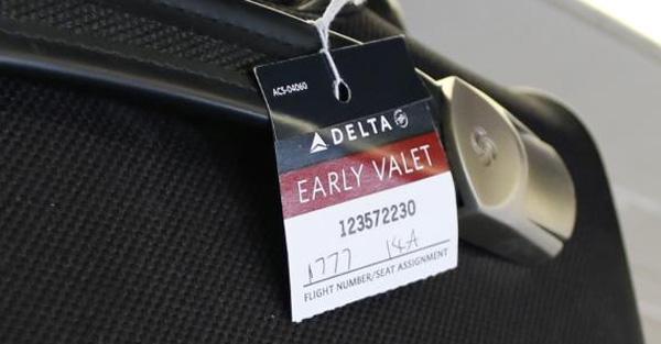 Delta Early Valet (DL)(LR)