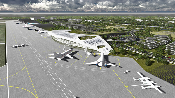 Houston Spaceport (LRW)
