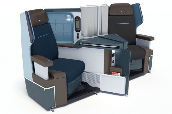 KLM 787-9 Business Seat (KLM)(LRW)