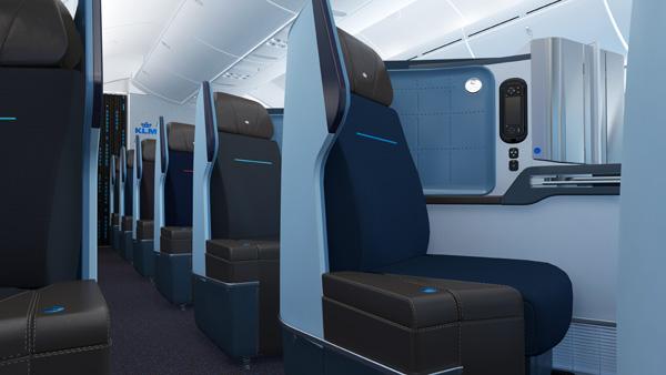 KLM 787-9 Cabin (KLM)(LRW)