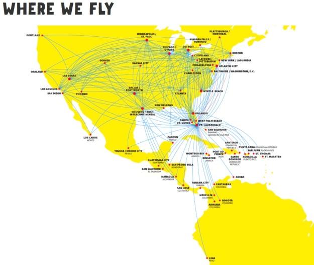 Spirit 7.2015 Route Map