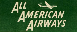 All American Airways logo