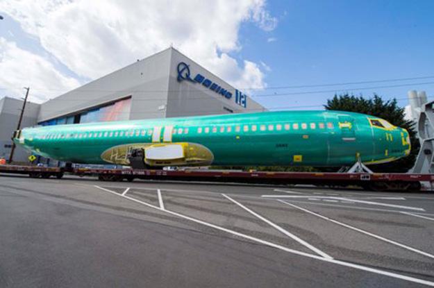 Boeing 1st Boeing 737 MAX Fuselage