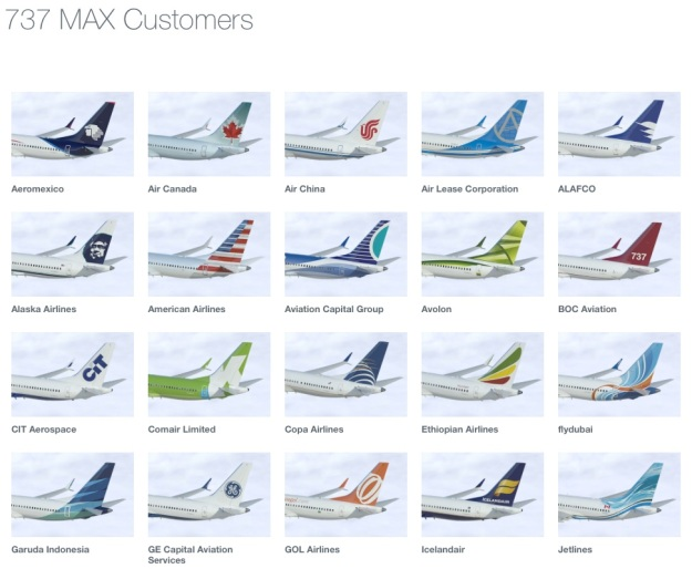 Boeing 737 Customers 1