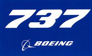 Boeing 737 logo