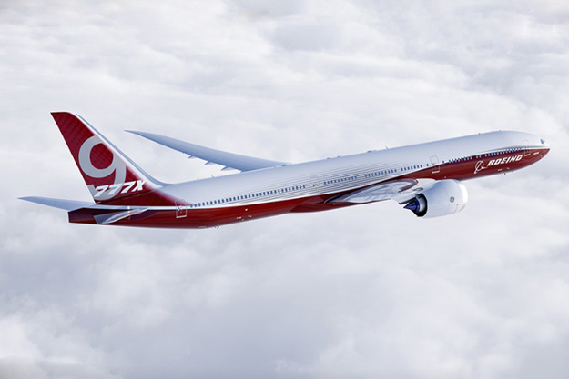 Image result for Boeing starts fuselage assembly for first 777-9