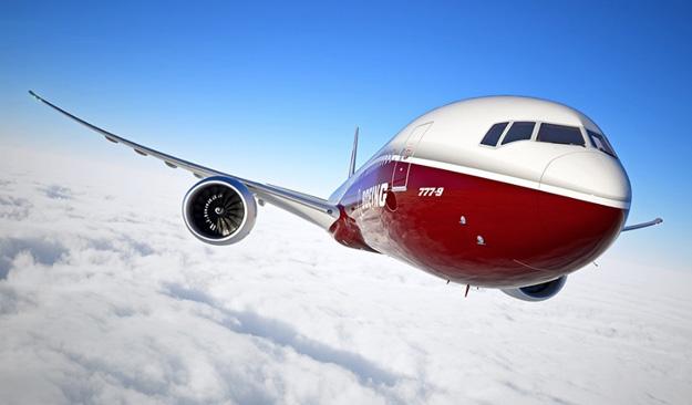 Boeing 777-9 (Nose)(Flt)(Boeing)(LR)