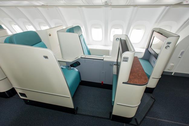 the best seats on korean air 777 200er business class. Black Bedroom Furniture Sets. Home Design Ideas